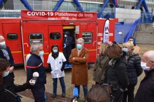 Le département, la Métropole et les Pompiers13 plus que jamais mobilisés face à la Covid-19