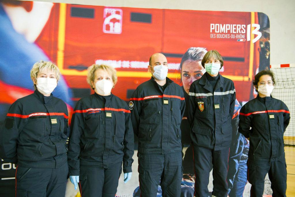 Pompiers13-Actualités-Les Pompiers13 au service de la campagne de vaccination