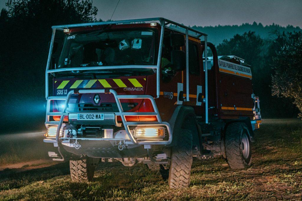 Pompiers13-Actualités-Premier feu de forêt de l'année pour les Pompiers13