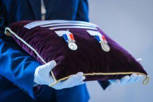 Pompiers13-Actualités-Remise de medailles Securite civile