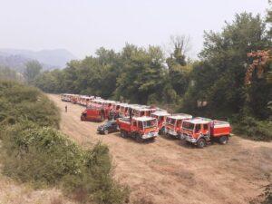 Les Pompiers13 en Grèce