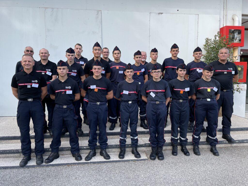 pompiers13-actualites-LES JEUNES SAPEURS-POMPIERS S'ENGAGENT POUR L'ENVIRONNEMENT