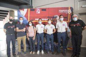 pompiers13-actualités-Fin de la mission d'intérêt général pour les jeunes du SNU
